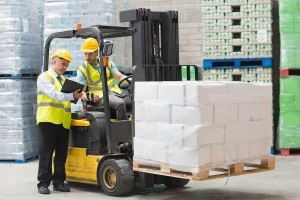bigstock-Forklift-driver-talking-with-h-847395321